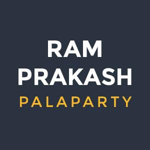 Ram Prakash Palaparty Logo